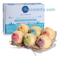 ihocon: Organic Essential Oils Bath Bombs Gift Set有機精油洗澡氣泡彈禮盒
