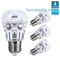 ihocon: Sansi 40 Watts Equivalent LED Light Bulb(4-Pack)燈泡