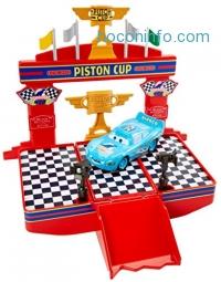 ihocon: Disney/Pixar Cars Wheel Action Drivers Race & Win Playset