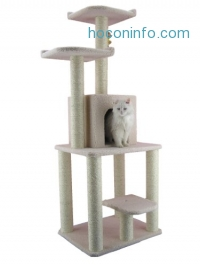 ihocon: Armarkat Cat tree Furniture Condo, Height- 60-Inch to 70-Inch