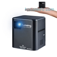 ihocon: Lumsing Mini Multimedia Home Theater Projector with Mini Tripod超小型家庭劇院投影機, 含三腳架