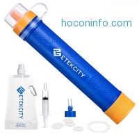 ihocon: Etekcity 3-stage Water Purifier Survival Gear便攜濾水器