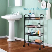 ihocon: LANGRIA 4-Tier Kitchen / Bathroom Shelving Unit