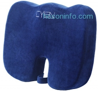 ihocon: CYLEN HOME Memory Foam Infused Ventilated Orthopedic Seat Cushion記憶棉坐墊