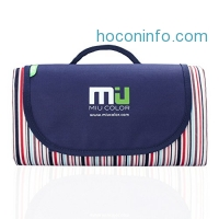 ihocon: MIU COLOR Foldable Large Picnic Blanket - Waterproof and Sandproof, Camping - 2 layers 可折疊收納雙層防水野餐地墊