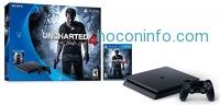 ihocon: PlayStation 4 Slim 500GB Console - Uncharted 4 Bundle
