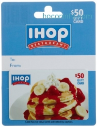 ihocon: $50 IHOP Gift Card for only $40