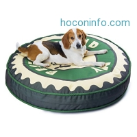 ihocon: CozyPet pet bed for medium to large size dog, 42x42x6 inch中,大型狗床