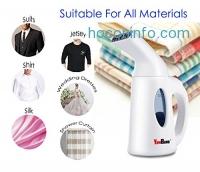 ihocon: YOMBAND Handheld Garment Fabric Steamer手持蒸氣熨斗