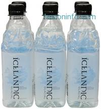 ihocon: Icelandic Glacial Natural Spring Water, 500 Milliliter, 6 Count 冰島冰川天然礦泉水