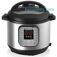 ihocon: Instant Pot DUO60 6 Qt 7-in-1 Multi-Use Programmable Pressure Cooker, Slow Cooker, Rice Cooker, Steamer, Sauté, Yogurt Maker and Warmer