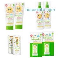 ihocon: Babyganics Mineral-Based Baby Sunscreen Lotion, SPF 50, 2oz Tube (Pack of 4)