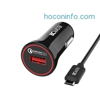 ihocon: BC 1-Port QC 2.0 USB Car Charger 汽車充電器