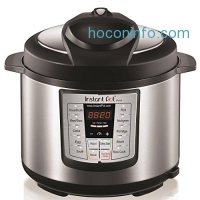 ihocon: Instant Pot LUX60 6-in-1 Multi-Use Programmable Pressure Cooker, 6 Quart | Stainless Steel