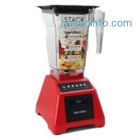 ihocon: Blendtec Classic 560 3.0 HP 4-Speed + Pulse Touchscreen Kitchen Blender, Red