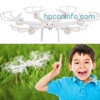 ihocon: Coocheer MJX X600 with C4005 Camera X-SERIES 2.4GHz 4 Channel 6 Axis RC Remote Control Hexacopter Drone with Headless Mode and Auto-Return空拍機