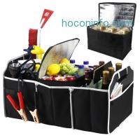 ihocon: Extra Large Auto Trunk Organizer with Removable Cooler汽車收納箱+保冷箱