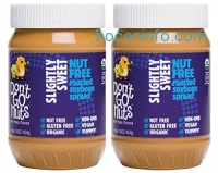 ihocon: Don't Go Nuts Nut-Free Organic Roasted Soybean Spread, Slightly Sweet, 2 Count