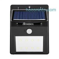 ihocon: Homdox Solar Motion Light 太陽能動作感應庭園燈