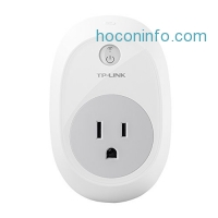 ihocon: TP-Link Smart Plug, No Hub Required, Wi-Fi, Control your Devices from Anywhere, Works w/ Amazon Alexa & Google Assistant (HS100)