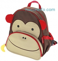 ihocon: Skip Hop Zoo Toddler Kids Insulated Backpack Marshall Monkey Boy, 12 inches, 兒童背包
