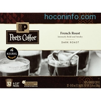 ihocon: Peet's Coffee French Roast Dark Roast 32ct K-Cup Packs