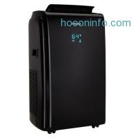 ihocon: Danby 12000 BTU 3-in-1 Portable Air Conditioner and Dehumidifier + Remote, Black