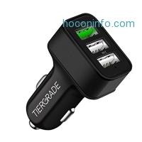 ihocon: Tiergrade 3 Port Quick Car Charger 快速汽車充電器