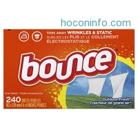ihocon: Bounce Fabric Softener Sheet's, Outdoor Fresh烘衣紙