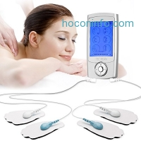 ihocon: TEC.BEAN TENS Mini Massager with 16 Modes and 8 Pads止痛儀