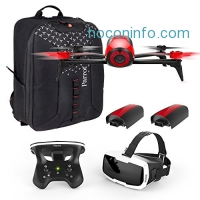 ihocon: Parrot Bebop 2 FPV Fly More Pack - three batteries, FPV goggles, controller and backpack