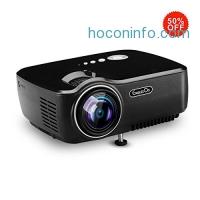 ihocon: Exquizon HD Home Cinema Pico Projector 1200 Lumens投影機