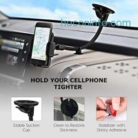 ihocon: TactoR Windshield Long Arm Car Phone Mount
