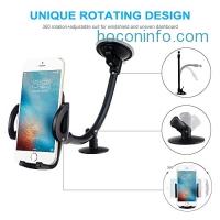 ihocon: EXSHOW Universal Long Arm Car Mount汽車手機固定架