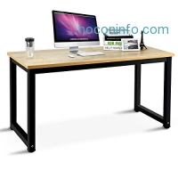 ihocon: Seacoo 55 Large Size Computer Desk-Office Desk-PC Workstation for Home Office