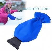 ihocon: Fleece Lined Waterproof Auto Ice Scraper Mitt 手套式防水汽車玻璃鏟雪器