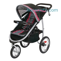 ihocon: Graco Fastaction Fold Jogger Click Connect Stroller, Azalea