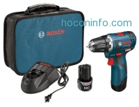 ihocon: Bosch PS32-02 12-volt Max Brushless 3/8-Inch Drill/Driver Kit with 2.0Ah Batteries, Charger and Case
