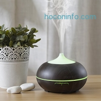 ihocon: Oak Leaf 300ml Essential Oil Diffuser / Cool Mist Humidifier with 7 Color 超音波精油擴香機/室內加濕器