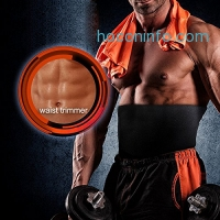 ihocon: Waist Trimmer, Ab Belt Trainer & Back Support護腰帶
