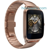 ihocon: ASUS ZenWatch 2 1.63 Smartwatch with HyperCharge (Gold Case, Gold Metal Band)