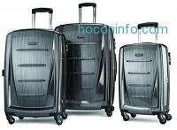 ihocon: Samsonite Luggage Winfield 2 Fashion HS 3 Piece Set硬殼行李箱
