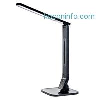 ihocon: Tenergy 11W 光線微調桌燈-含USB充電孔 Dimmable LED Desk Lamp With Built-in USB Charging Port, 530 Lumens