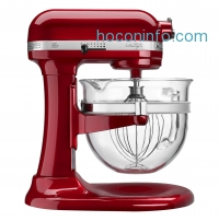 ihocon: KitchenAid® Professional Pro 600 Design 6 Qt Stand Mixer with Glass Bowl- KF26M22