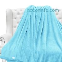 ihocon: LANGRIA Bed Throw Blanket, 60x80, 保暖毛毯