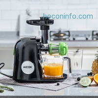 ihocon: Aicok Slow Masticating Juicer Extractor, Cold Press Juicer慢磨果汁機