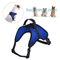 ihocon: Dog Harness Adjustable Soft Mesh狗狗胸背帶