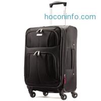 ihocon: Samsonite Aspire XLite 20-Inch Upright Expandable Spinner Luggage (Black)
