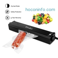ihocon: Ymiko Vacuum Sealer Machine, including 20pcs Bags 食物真空封口機