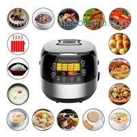 ihocon: Elechomes CR502 10 Cups(Uncooked) Rice Cooker, 16-Modes Stainless Steel Multi-Cooker不銹鋼電飯鍋